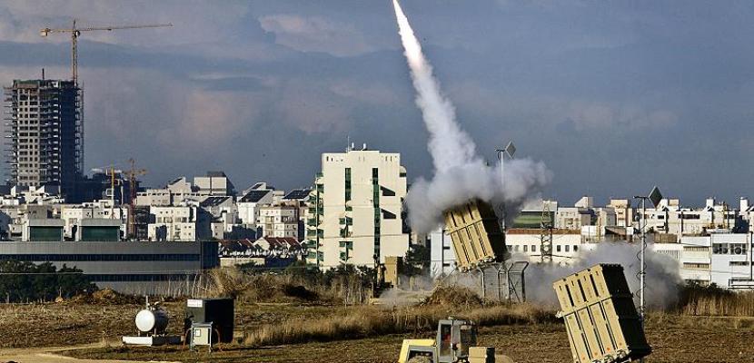 الجيش الإسرائيلي: القبة الحديدية تنجح في اعتراض صاروخ أطلق من قطاع غزة