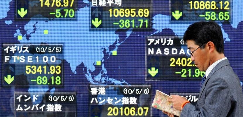 المؤشر نيكي ينخفض 0.10% في بداية التعامل ببورصة طوكيو
