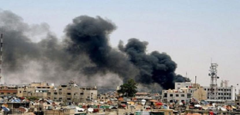 قتيل و6 جرحى في اعتداءات بالقذائف بريف دمشق