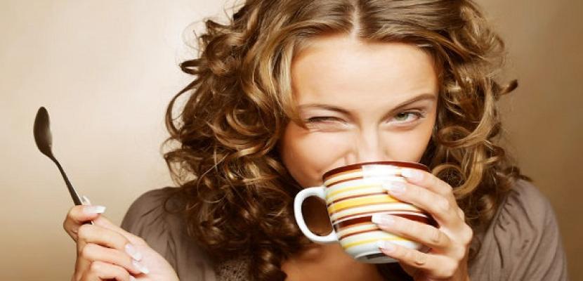 شرب القهوة للعناية بالبشرة