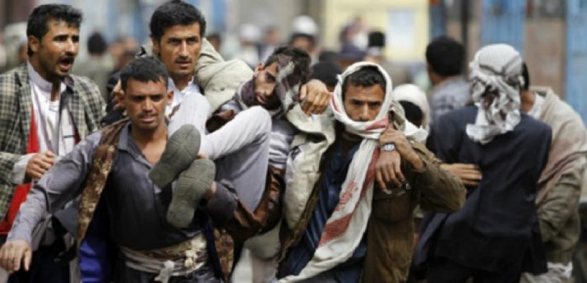 مقتل وإصابة 18 من المليشيا في مواجهات بمحافظة الضالع باليمن