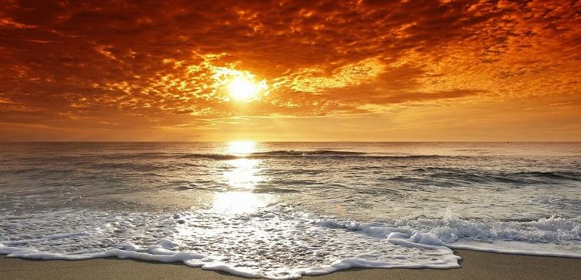 سحر غروب الشمس و لوحات فنية رائعة