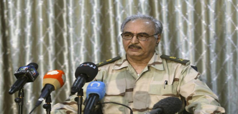 الجيش الليبى يعلن تسليم حقل الشرارة النفطى إلى المؤسسة الوطنية