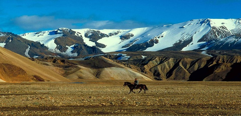 الطبيعة في ايسلندا