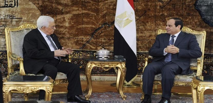 حصاد 2015: الدبلوماسية المصرية تعيد القضية الفلسطينية إلى بؤرة الاهتمام