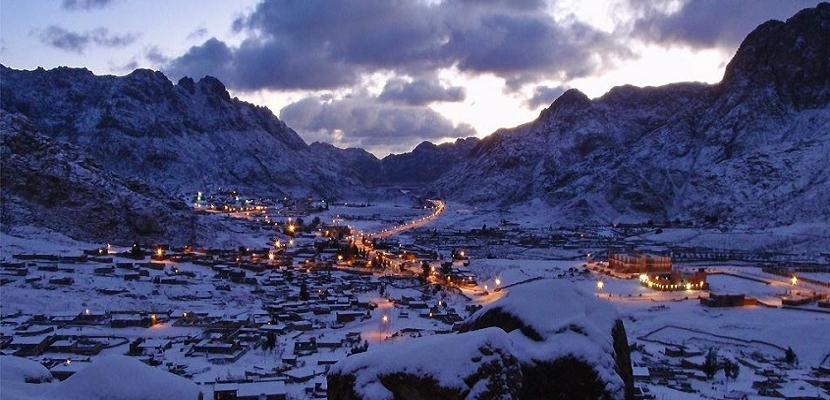 جبال سانت كاترين الساحرة