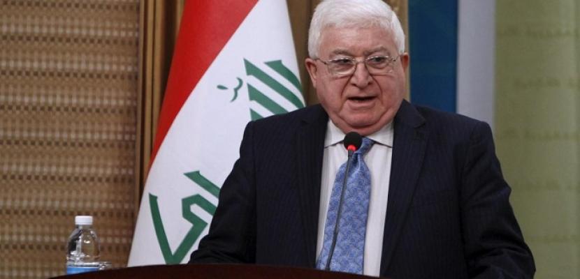 الرئيس العراقي يرفض المصادقة على قانون الموازنة المالية لعام 2018
