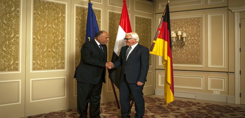 شكرى فى برلين اليوم لتدعيم العلاقات الثنائية وبحث الأوضاع الإقليمية