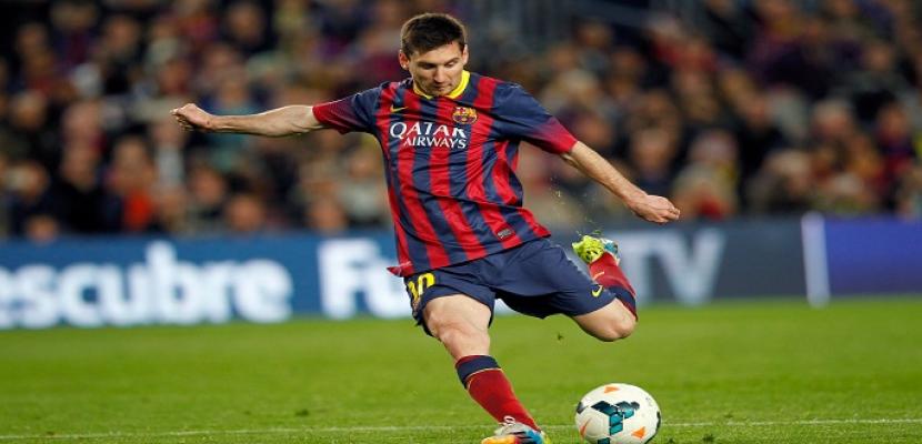 ميسي ينقذ برشلونة من الخسارة أمام فياريال في الوقت القاتل