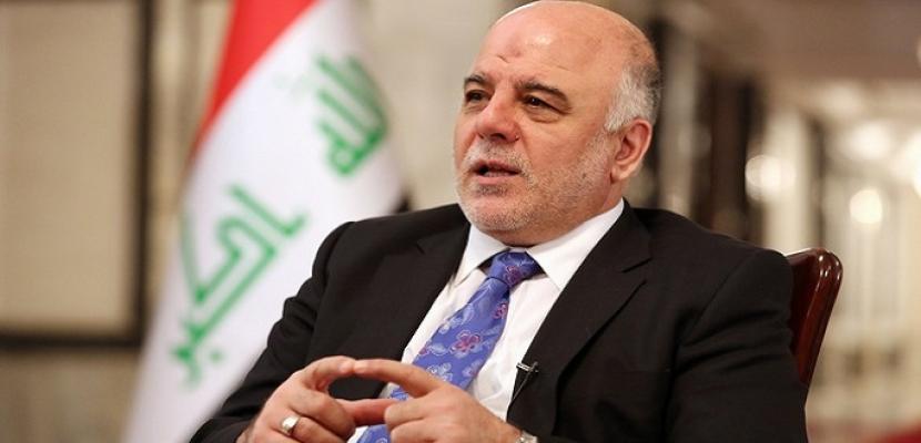 العبادي يرفع الحظر عن الرحلات الدولية المتجهة إلى إقليم كردستان