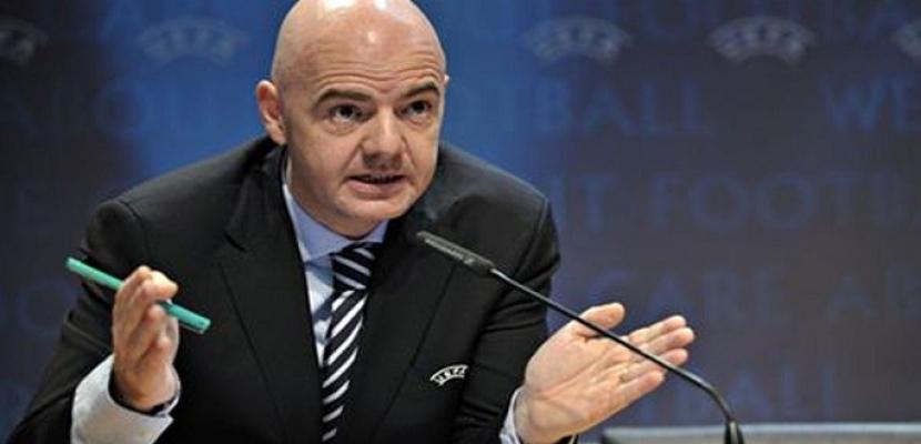 الفيفا يقرر مشاركة 48 منتخباً فى مونديال 2026