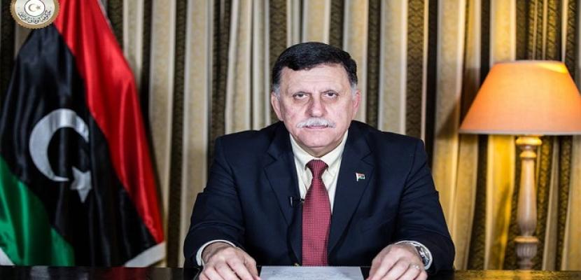 رئيس المجلس الرئاسي الليبي يصل إلى القاهرة