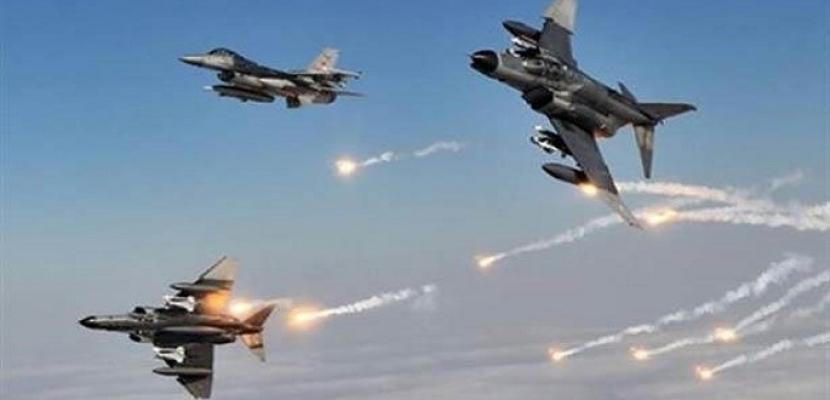 طيران التحالف الدولي يحبط هجوم داعش على البيشمركة بكركوك