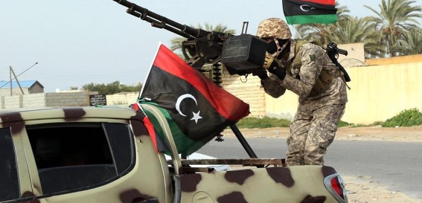 الجيش الليبى يدين الدعم التركى والإخوانى للجماعات الإرهابية فى ليبيا