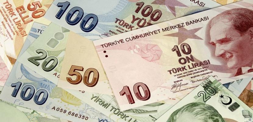 الليرة التركية تهوى 2.5% أمام الدولار إلى مستوى قياسى جديد