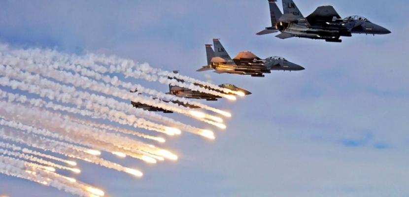 التحالف العربي يشن غارات متفرقة على الحديدة اليمنية