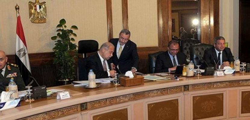 الملفات الأمنية والاقتصادية تتصدر اجتماع مجلس الوزراء اليوم