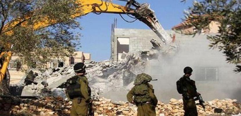 فلسطينيو الداخل ينظمون إضراباً عاماً تنديداً بسياسة هدم المنازل