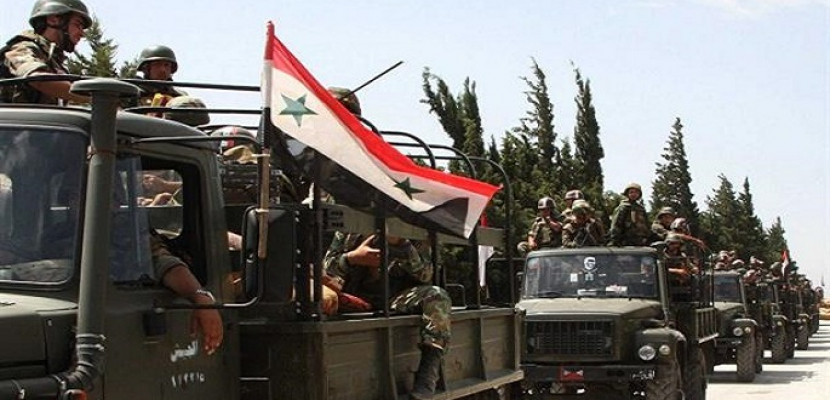 قوات الجيش السورى تستعيد السيطرة على عدة مواقع فى ريف إدلب