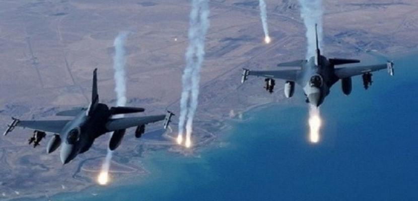 مقتل 4 أشخاص فى قصف للتحالف الدولي على مدينة الرقة