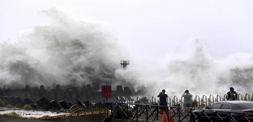 مصرع 5 وإصابة 50 آخرين فى إعصار الصين