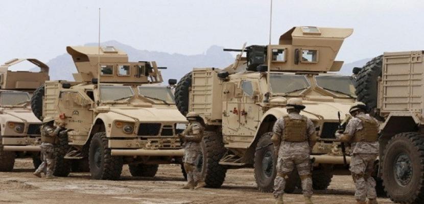 التحالف العربي يدمر منصة إطلاق صواريخ للحوثيين في محافظة الحديدة