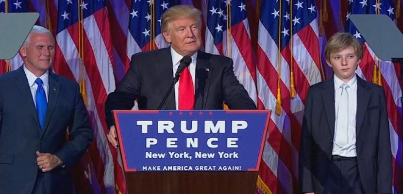 مؤتمر صحفي للرئيس الامريكي المنتخب دونالد ترامب
