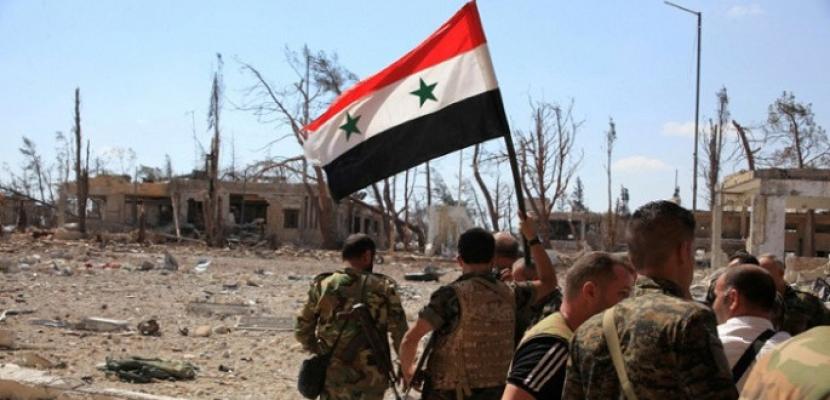 """الجيش السوري يستعيد قرية """"حطلة تحتاني"""" في ريف دير الزور"""
