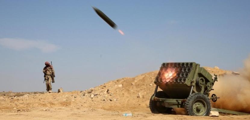 التحالف العربي يدمر صاروخا باليستيا أطلقه الحوثيون على الحدود السعودية اليمنية