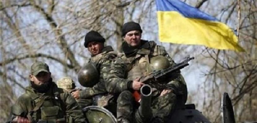 القوات الأوكرانية تعلن رصدها لـ 59 حالة إطلاق النار في دونباس