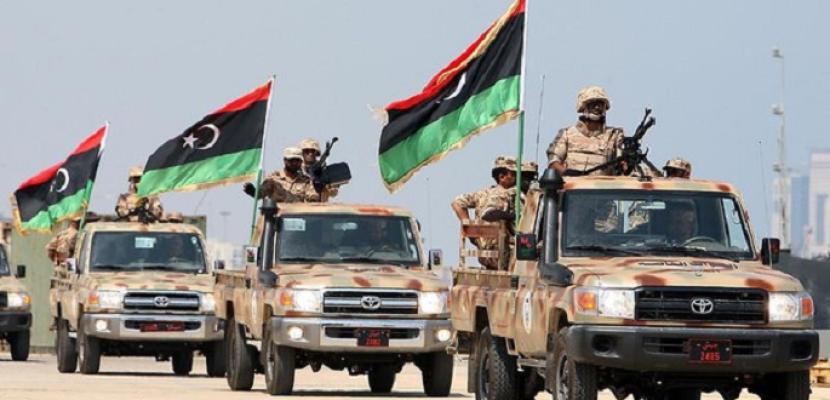 """الجيش الليبي الوطني يحبط هجوم على قاعدة """"تمنهنت"""" الجوية"""