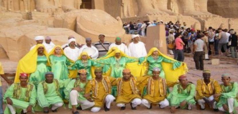 انطلاق مهرجان ألوان مصرية في أسوان