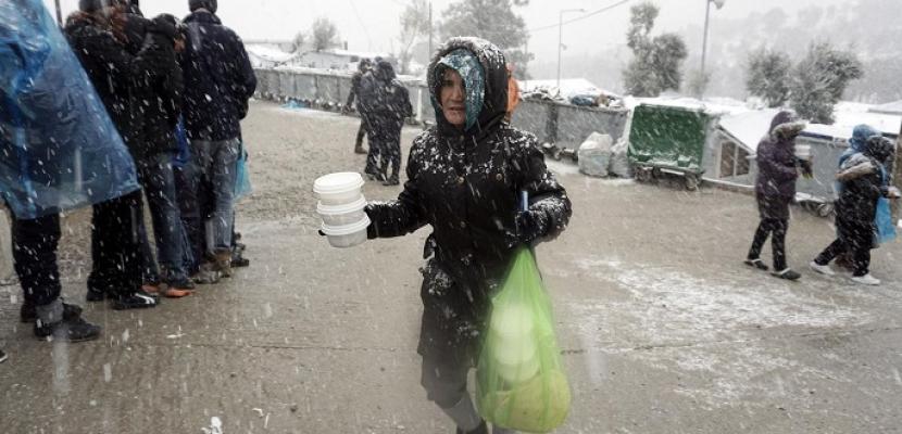 لاجئون .. «تحت الصفر»
