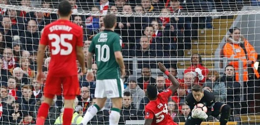 ليفربول يكتفي بالتعادل مع بليموث المغمور بكأس الاتحاد الإنجليزي