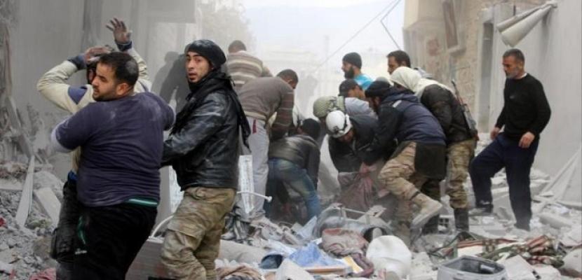 """الدفاع الروسية: تنظيم """"جبهة النصرة"""" الإرهابي يستعد للقيام باستفزازات فى إدلب باستخدام مواد كيميائية"""