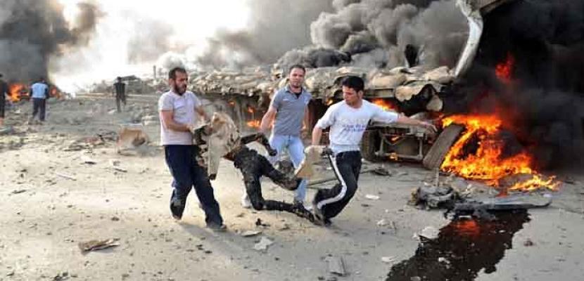مقتل شخص وإصابة اثنين بسبب الخرق الأمنى للمسلحين بحمص