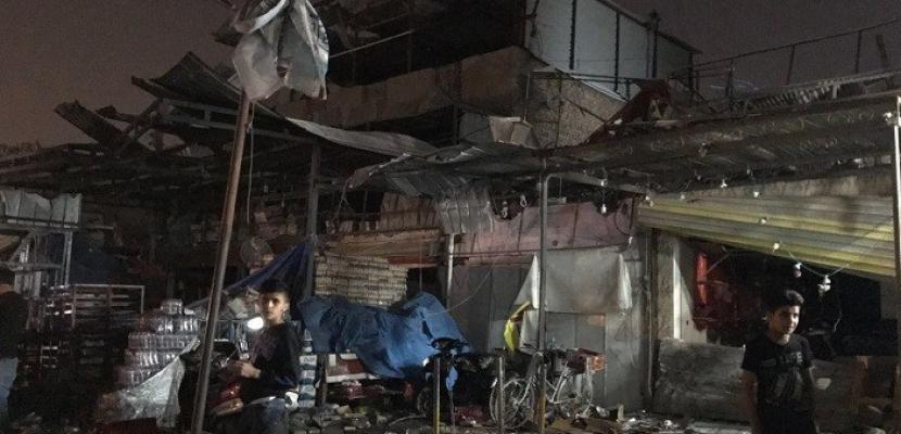 مقتل مدنيين عراقيين في سلسلة تفجيرات في بغداد