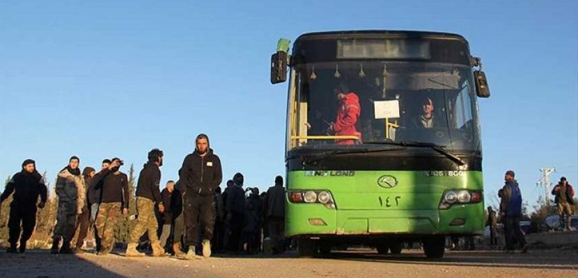 انتهاء عمليات الإجلاء من أربع بلدات محاصرة في سوريا