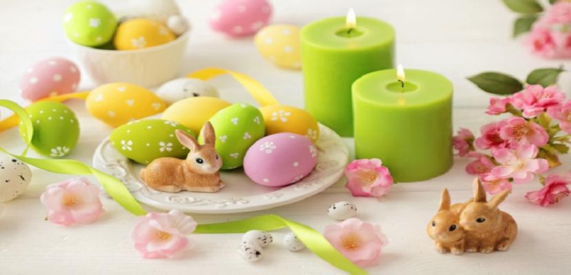 عيد الربيع و فن التلوين