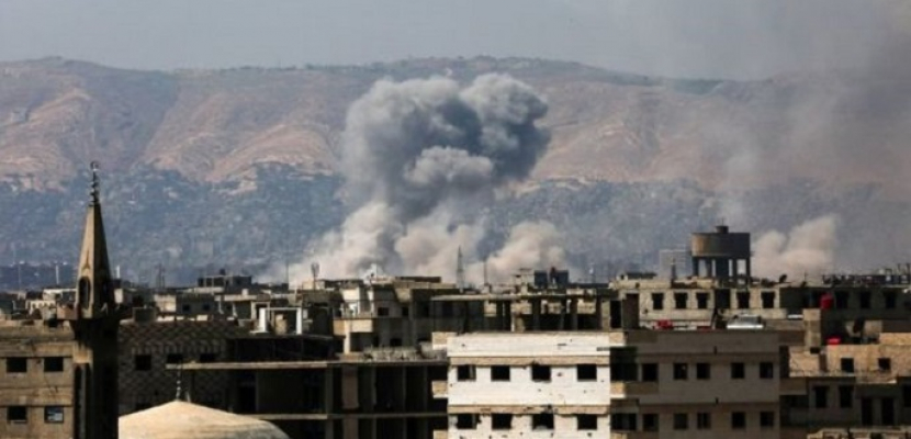 المعارضة السورية: مقتل 5 أطفال وإصابة 27 آخرين في هجمات للنظام بالغوطة الشرقية