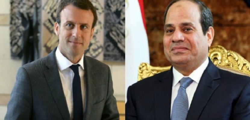 الرئيس السيسي يبحث هاتفيا مع نظيره الفرنسي التطورات الاقليمية خاصة في ليبيا