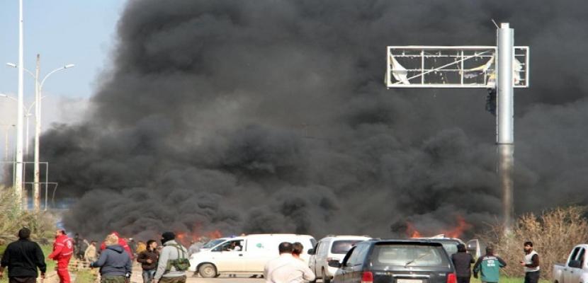 مقتل 23 بتفجير انتحارى داخل معسكر لمسلحى المعارضة السورية