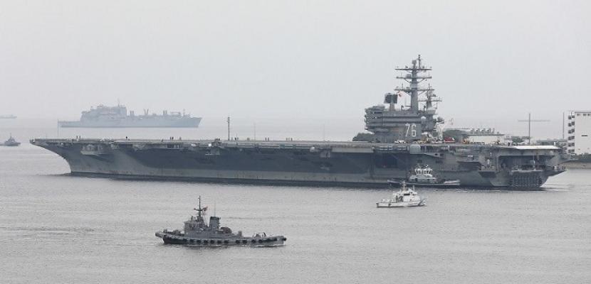 """واشنطن ترسل حاملة الطائرات """"Ronald Reagan"""" إلى شبه الجزيرة الكورية"""