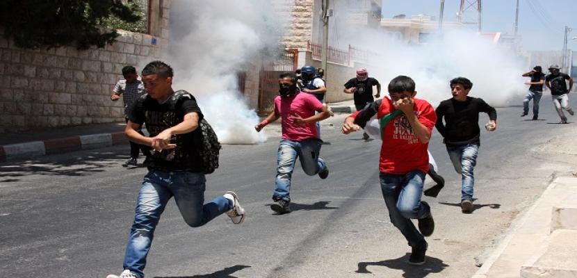 40 مصابا فلسطينيا بنيران قوات الاحتلال بقطاع غزة