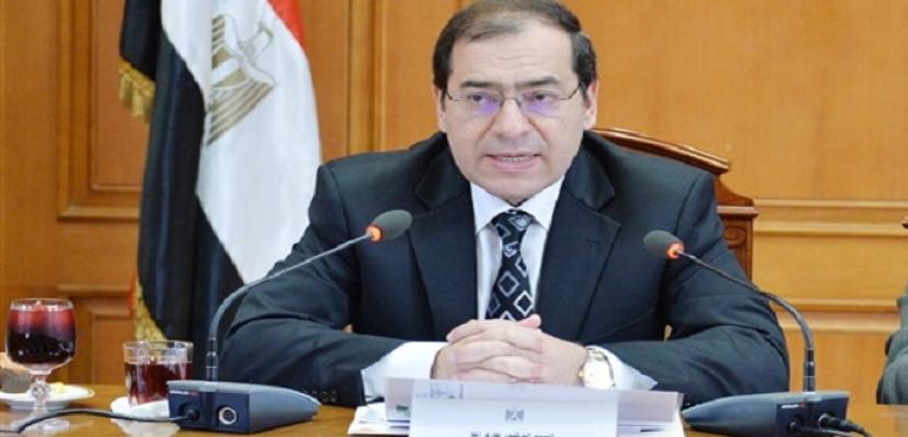 وزير البترول: حقول ظهر وشمال الإسكندرية ونورس ترفع إنتاج الغاز بنسبة 50% في 2018