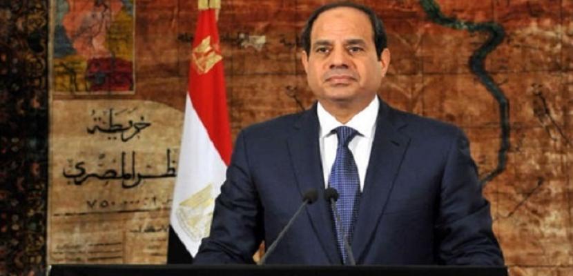 السيسي يقر اتفاقية مع تونس في النقل البحري ويوافق على مكتب للبنك الإسلامي