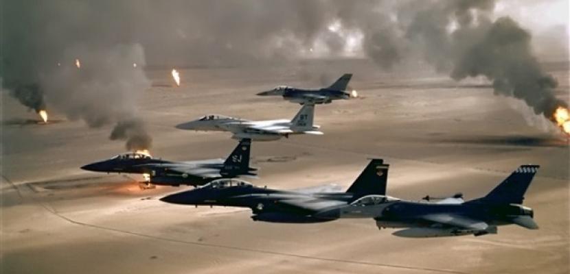 التحالف العربي يشن 11 غارة جوية على معسكرات للحوثيين في ذمار شرق اليمن