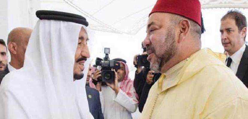 خادم الحرمين الشريفين يستقبل العاهل المغربي في طنجة