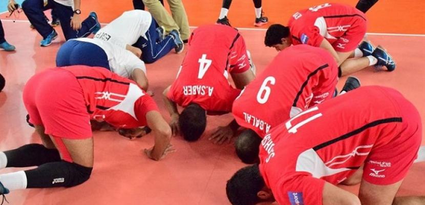 منتخب مصر يفوز على اليابان بمونديال العالم للطائرة تحت 23 عاما