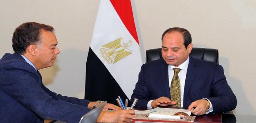 السيسي يبحث مع وزير النقل نتائج تحقيقات تصادم قطاري الأسكندرية